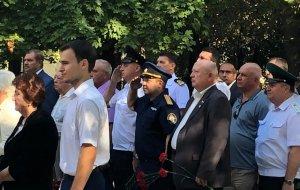 Представитель краевого управления СКР принял участие в торжественных мероприятиях, посвященных освобождению Новороссийска от немецко-фашистских захватчиков
