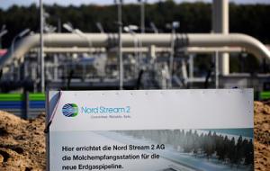 Европа потребовала остановить «Северный поток-2»