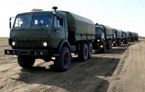 В подразделения Южного военного округа поступила новая автомобильная техника