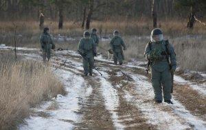 Саперы на Кубани провели учение по подрыву неизвлекаемых взрывных устройств